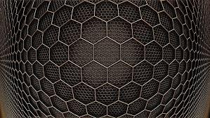 hexagon 3d design hd wallpaper