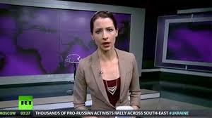 Abby Martin, Russia Today presenter, criticises Crimea ...