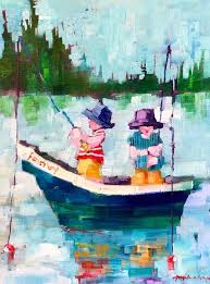 Study Fishermans Friend (With images) | Whimsical art, Painting ...
