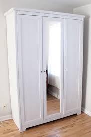 3 door ikea wardrobe with mirror olio