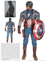captain america costumes and props