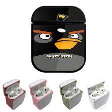 ANGRY BIRDS SOCKO BOMB BLACK Custom airpods case - Coverszy