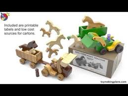 asla free wood toy tractor plans guide
