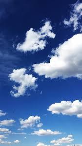 السماء الزرقاء والسحب تنزيل خلفية Hd