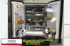 Những nguyên nhân khiến tủ lạnh Hitachi side by side không chạy