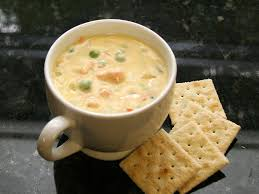 Cheddar Cheese and Salmon Chowder Recipe
