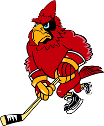 Signspecialist Com Mascots Decals Cardinal Hockey Team Mascot Color Vinyl Sports Decal Personalize On Line Cardinal Hockey