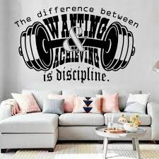 Mma Boxing Workout Gym Motivation Quote Wall Art Vinyl Decals Stickers Home For Sale Online Ebay