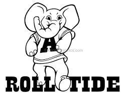 Alabama Roll Tide Sticker Football Stickers And Decals Elkhorn Graphics Llc