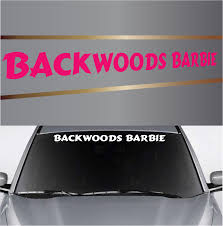 Create Your Own Custom Windshield Decal Banner Maker Custom Trucks Custom Pickup Trucks Country Girl Decal