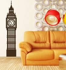 Big Ben Westminster London Clock Tower Vinyl Wall Decal Home Decor Customvinyldecor Com