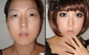 the power of makeup asian s before