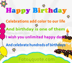 quotes about celebration birthday quotes