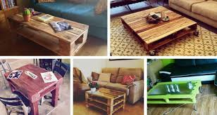 20 diy pallet coffee table ideas easy