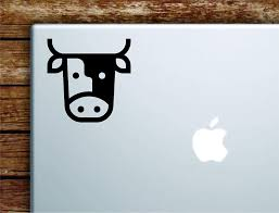 Amazon Com Boop Decals Cow Laptop Apple Macbook Car Quote Wall Decal Sticker Art Vinyl Cute Inspirational Teen Animal Cute Moo Barn Farm Milk Home Kitchen