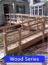 Wood Series   Wooden Ramps   ADA Compliant Ramps
