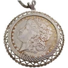 las antique sterling silver morgan