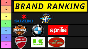 motorcycle brand tier list you