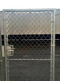 Tubular Gates Used With Chain Link And Welded Mesh Cladding Jacksons Fencing