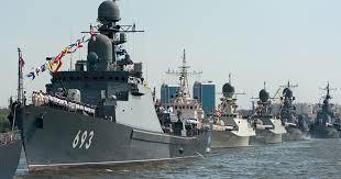 Россия начала учения в Каспийском море