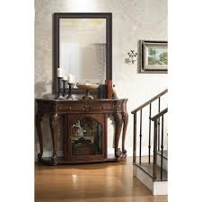 non beveled framed wall mirror