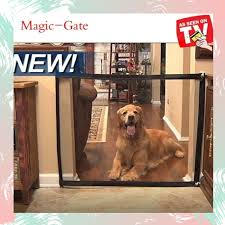 Magic Gate For Dogs Baby Safety Gate Pet Enclosure Portable Mesh Folding Safety Fence Easy Install Anywhere Pet Isolation Net Dog Gate Safety Fence For Indoor Hall Doorway Lazada Ph