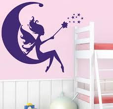 Fairy Wall Decal Enchanting Girls Decor Decals Market