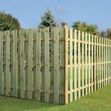 Unbranded 5 8 In X 5 1 2 In X 6 Ft Pressure Treated Pine Dog Ear Fence Picket 102560 The Home Depot