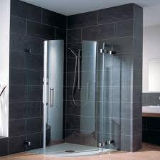 tempered glass frameless shower cabin