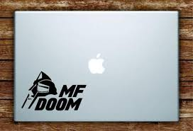 Mf Doom Mask Quote Laptop Apple Macbook Decal Sticker Room Art Vinyl Rap Hip Hop Underground Lyrics M Vinyl Art Quotes Wall Quotes Decals Laptop Decal Stickers