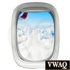 3d Window Decal Airplane Window Sky Clouds Aerial View Vinyl Etsy