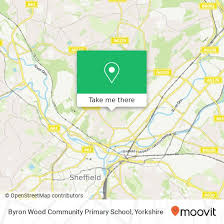 How to get to Byron Wood Community Primary School in Sheffield by Bus,  Train or Light rail | Moovit