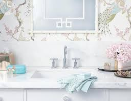 bathroom with clarke and clarke indira