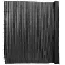 Uk Slat Pvc Screening Fence Garden Bamboo Privacy Screen Mat Balcony Wind Panels Ebay