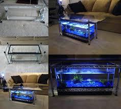 how to diy aquarium coffee table diy