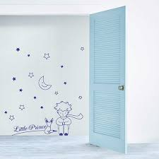 Little Prince Wall Decal Babys Room Wall Vinyl Sticker Kids Etsy