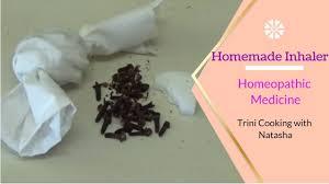 homemade inhaler for congestion you