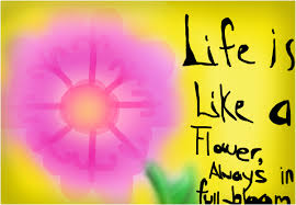 quotes about life using flowers quotes