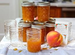 how to make old fashioned peach jam the