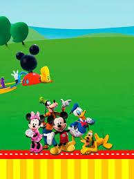 Casa De Mickey Imprimibles E Invitaciones Para Imprimir Gratis