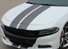 2015 2021 Dodge Charger Racing Stripes N Charge Decals Vinyl Graphics Auto Motor Stripes Decals Vinyl Graphics And 3m Striping Kits