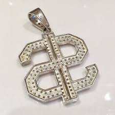 925 sterling silver mens iced out