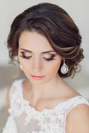 bridal hairstyle and makeup ideas