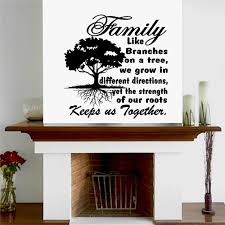 Tree Wall Decal Wall Art Family Roots Keep Us Together Etsy