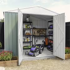 2 99 x 2 99 x 2 19m green garden shed