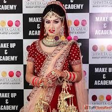 best bridal makeup artist in delhi for