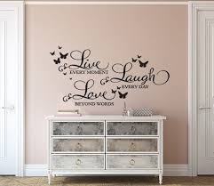 Live Laugh Love Wall Decal Sticker Quote By Ey Decals