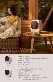 Tủ Lạnh Mini Baseus Dung Tích 8 lít có 2 Chế Độ Nóng & Lạnh, Tủ Lạnh cho  Gia Đình Nhỏ, Tủ Lạnh cho Xe Hơi