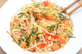 Thai Rice Noodle Salad With Chili-Lime ...