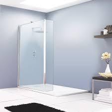 aurora walk in shower enclosure with